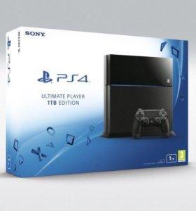 PS4(1TB)новый,запечатанный