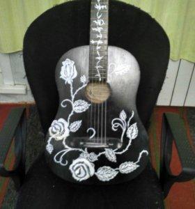 Гитара (роспись ручная работа)