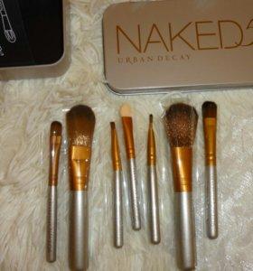 Набор кисточек для макияжа суперские 👍(новые)