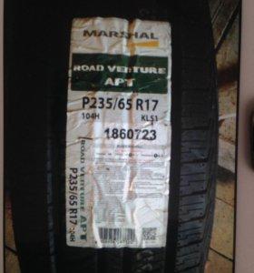 Летняя резина izen marshal 235/65r17. 4 колеса.