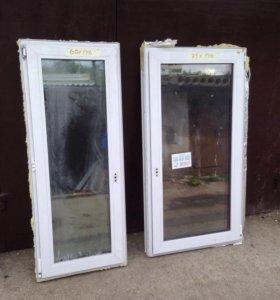 Двери Окна б/у пластиковые
