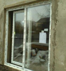 Сдвижная дверь ПВХ под заказ.