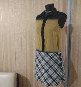 Блузка,юбка