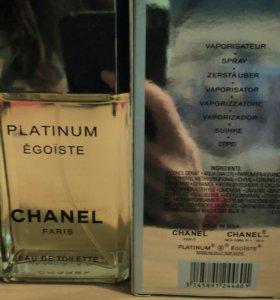 Шанель эгоист платинум