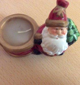 Свечка Дед Мороз
