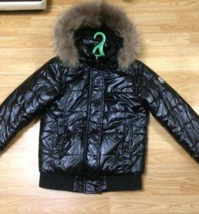 Куртка moncler черная
