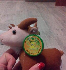 мягкая игрушка козел