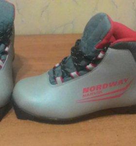 Ботинки для лыжь