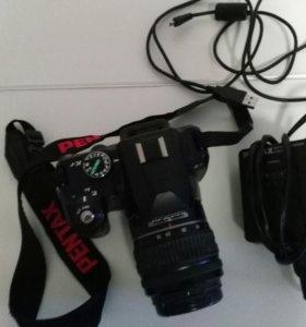 Зеркальный фотоаппарат Pentax k-r