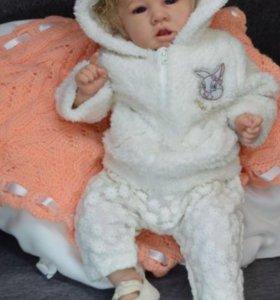 Кукла реборн Мэлани.