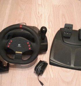 Logitech MOMO racing игровой руль для пк