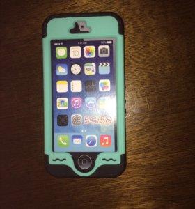 Противоударный чехол на Айфон 5s и SE