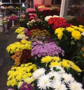Оптом и розница у нас цветы