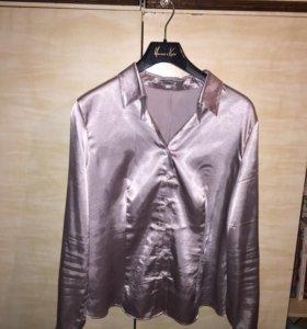 Блуза женская атласная ткань
