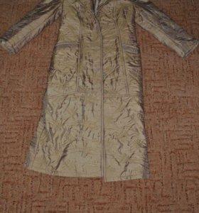 Новое пальто на синтепоне,р.46