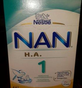 Гипоаллергенная смесь NAN из Финляндии