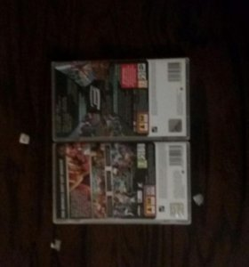 2 диска для(PSP)-Человек паук 3,Бакуганс-