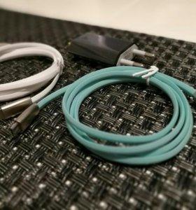 Продаю зарядный кабель для iPhone iPad и micro-USB