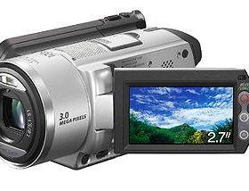 Видеокамера Sony HDD тачскрин dcr-sr100e + 3 акб