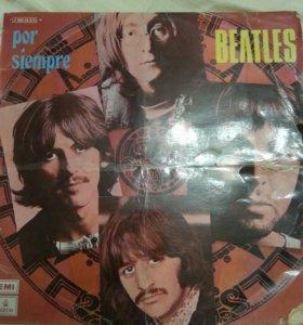 Виниловая пластинка Beatles por siempre