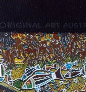 Панно by аборигены австралии