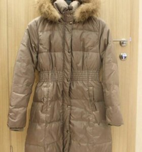 пальто пуховое р 46-48