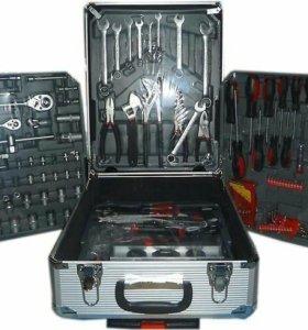 Набор инструментов в кейсе 186 предметов