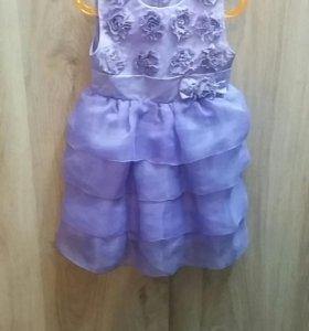 платье на девочкку