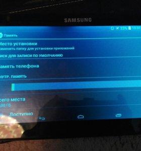 Планшет SAMSUNG Galaxy note, +чехол-клавиатура
