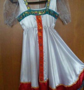 Русский народный костюм+ ободок на голову