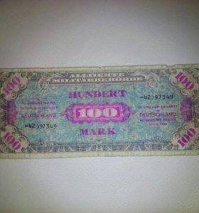 100 марок
