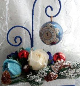Композиция из подарочного чая Richard и конфет