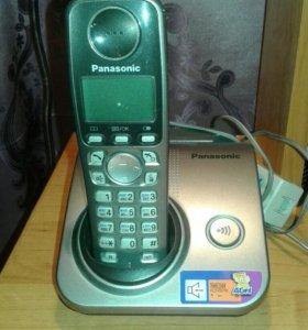Беспроводной телефон.