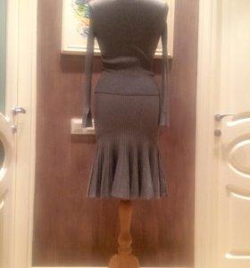 Платье, трикотажный костюм