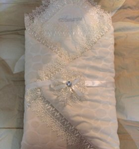 Конверт одеяло на выписку ЗИМА