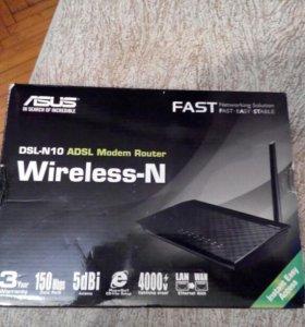 Wi-Fi роутер Asus n-10