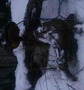 Мост зил бычок в сборе с рессорами