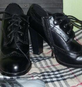 Ботильоны ботиночки обувь