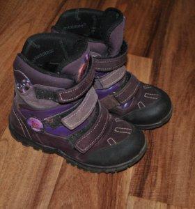 Зимние ботинки минимен р.30
