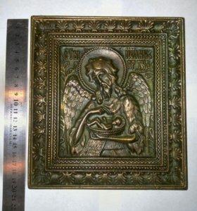 Икона Иоанн Предтеча Медная