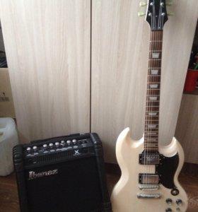 Электрогитара Astone, Комбоусилитель для гитары