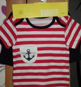 """Костюм футболка+шорты """"Веселый моряк"""""""