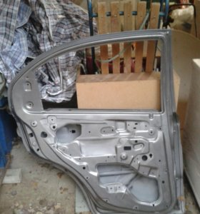задняя дверь на Шевроле Авео (Chevrolet Aveo)
