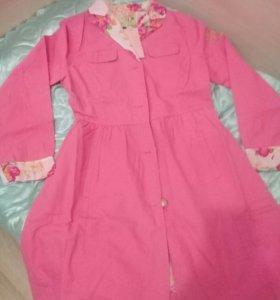 Фаберлик.Весеннее пальто для девочек.
