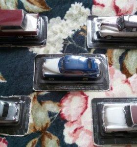 Модели ретро-авто (5 штук)