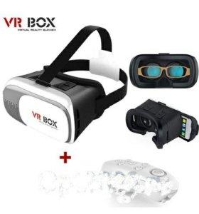 Очки VR BOX 2 с джойстиком  original