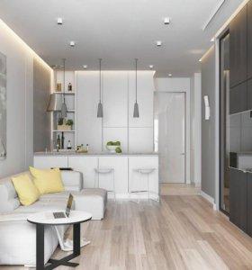 Дизайн проект интерьера, квартиры, дома