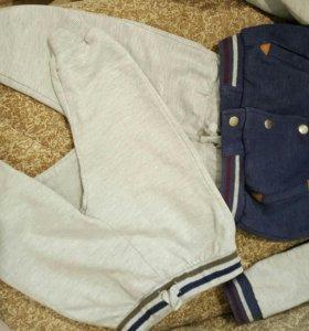 Костюм zara с дополнительными штанами