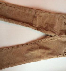 Zara брюки вельветовые