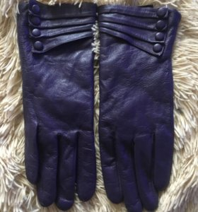 Перчатки кожа, размер 7,5